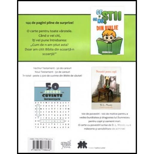 50 de jocuri cu cuvinte incrucisate - Vechiul Testament