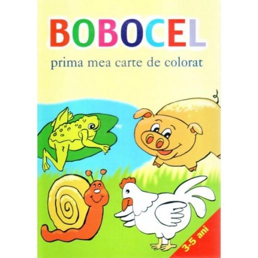 Bobocel - prima mea carte de colorat