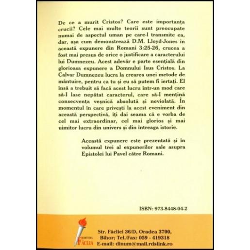 Crucea - justificarea lui Dumnezeu