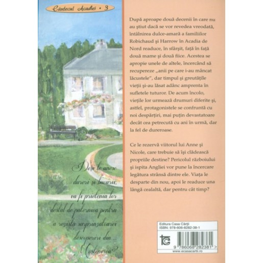 Mostenirea - seria Cantecul Acadiei - vol 3
