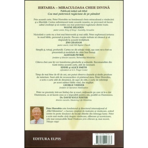 Iertarea - miraculoasa cheie divina