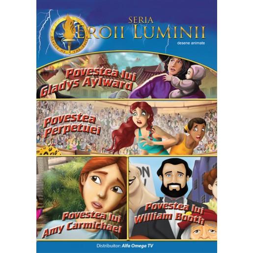 DVD - Eroii luminii vol 2