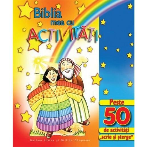 Biblia mea cu activitati