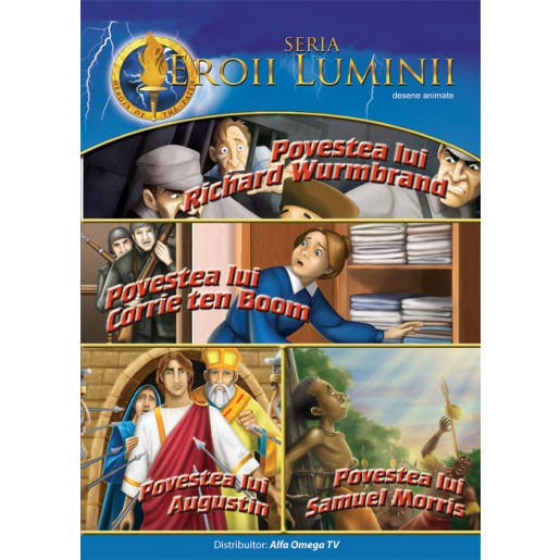DVD - Eroii luminii vol 3