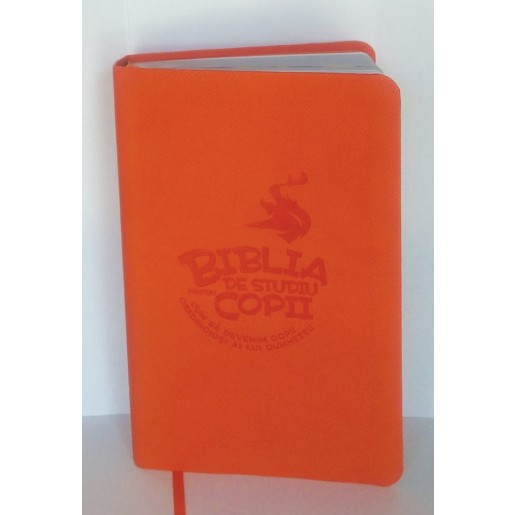 Biblia de studiu pentru copii - coperta flexibila