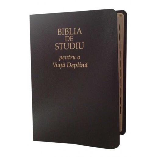 Biblia de studiu pentru o viață deplină - fără fermoar