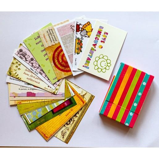 Set 18 carduri cu verset