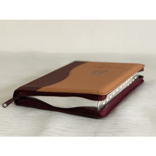 Biblie NTR 2 culori - maro