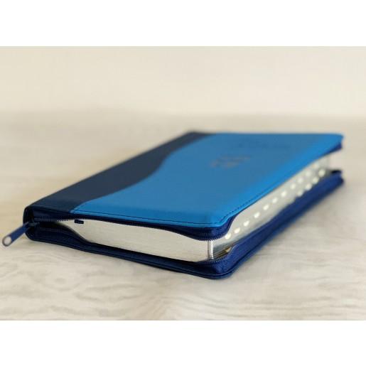 Biblie NTR 2 culori - albastru