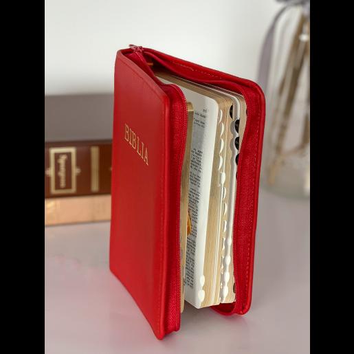 Biblie mică 047 PFR roșie