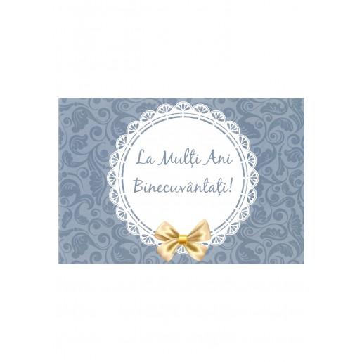Felicitare - La mulți ani binecuvântați!