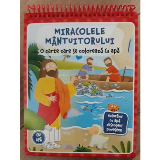 Carte de colorat cu apa pentru copii