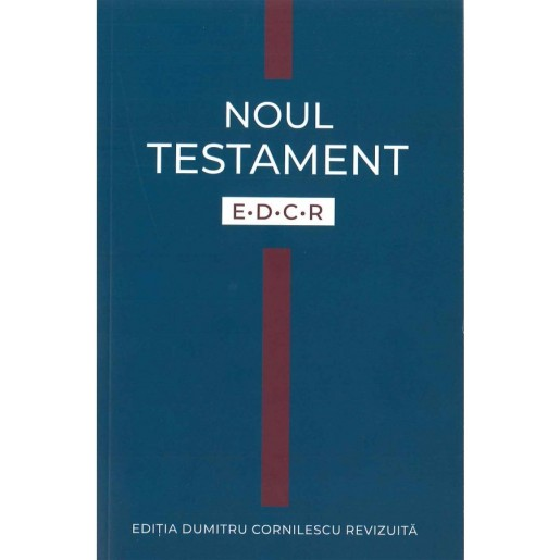 Noul Testament EDCR - copertă flexibilă