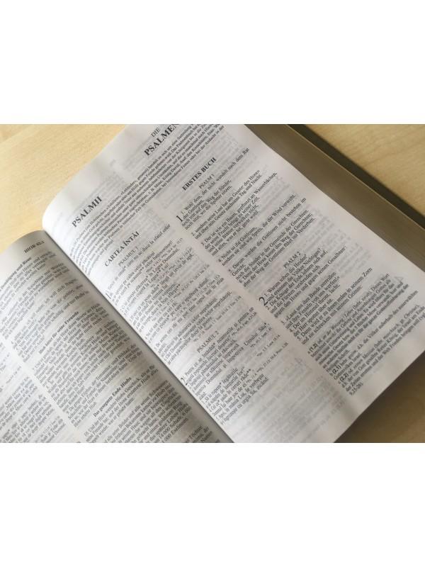 Biblie bilingva Romana-Germana colorata