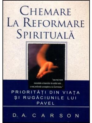 Chemare la reformare spirituala