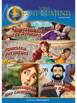 DVD - Eroii luminii vol 2