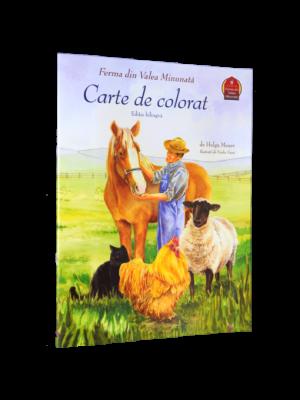 Ferma din Valea Minunată - carte de colorat