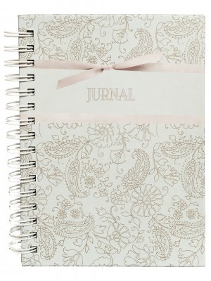 Jurnal mic cu model floral
