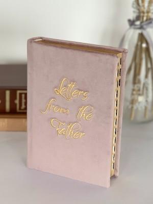 Biblie handmade 057 - roz