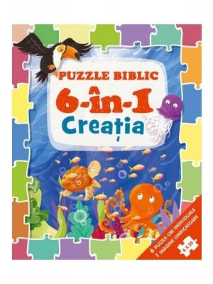 Puzzle biblic 6 în 1 - Creația