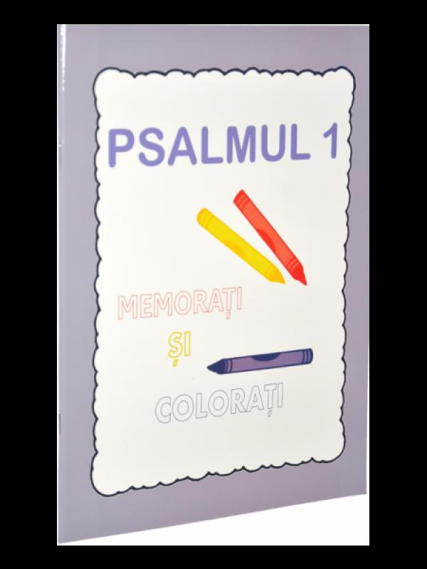 Psalmul 1. Memorati si colorati