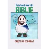 Prietenii mei din Biblie - carte de colorat