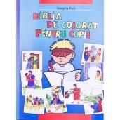 Biblia de colorat pentru copii