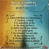 CD Daniel și Emanuela Hîrtie - Nici o zi fara El