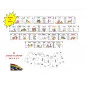 Joc - Alfabet personaje biblice și virtuți