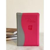 Biblie NTR 2 culori - roz