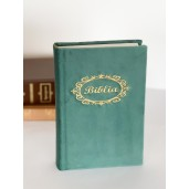 Biblie handmade  053 - verde