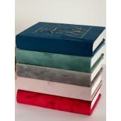 Biblie handmade 053 - albastru