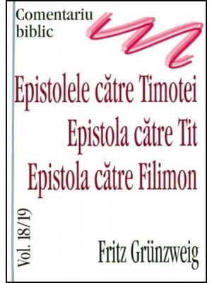 Epistola catre Timotei, epistola catre Tit, Epistola catre Filimon