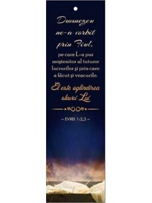 Semn de carte 66C - Evrei 1:2-3