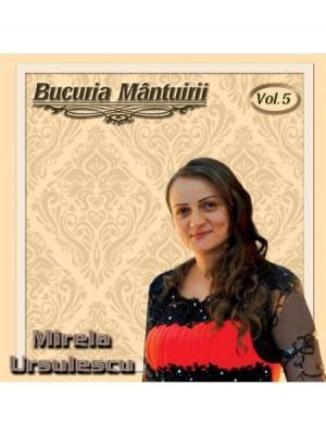 CD Mirela Ursulescu - Bucuria mântuirii vol. 5
