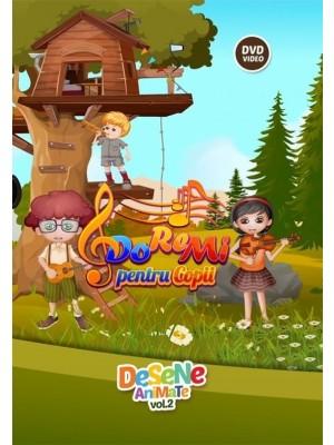 DVD - Do Re Mi pentru copii - Desene animate. Vol. 2