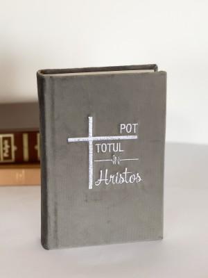 Biblie handmade 053 - gri