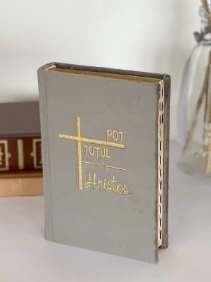 Biblie handmade 057 - gri