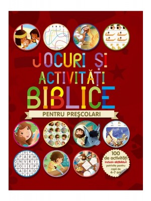 Jocuri și activități biblice - pentru preșcolari