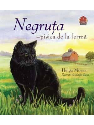 Negruta - pisica de la ferma