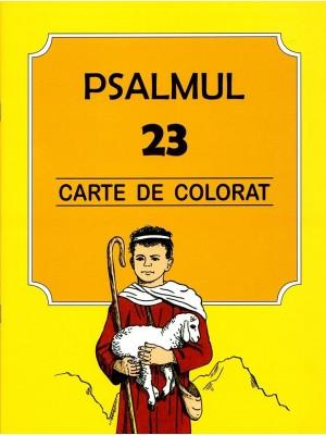 Psalmul 23 - carte de colorat
